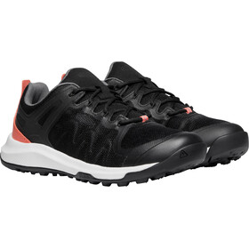 Keen Explr Vent Buty Kobiety, black/coral
